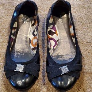 Coach Ballet Flats